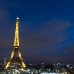 Paris by Night: Eiffel Tower