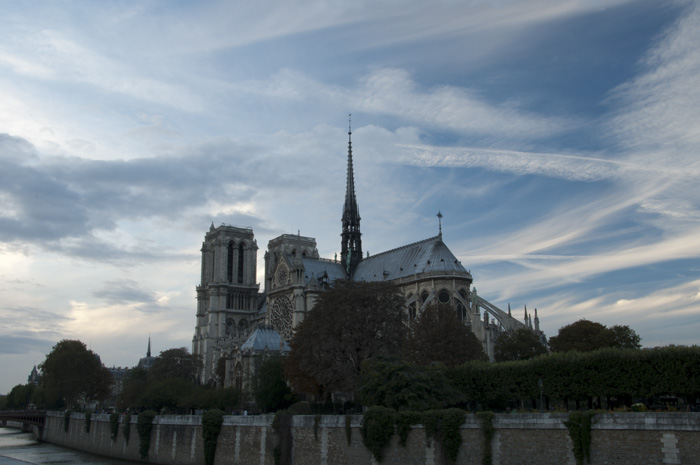 Cathedral Notre Dame (f25 / 1.0 sec / ISO 100 / polarized filter) — © Adam Sedgley