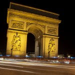 Paris by Night: The Two Arches