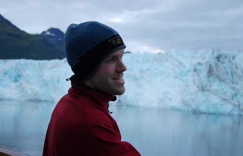 Adam in Glacier Bay Alaska in 2006